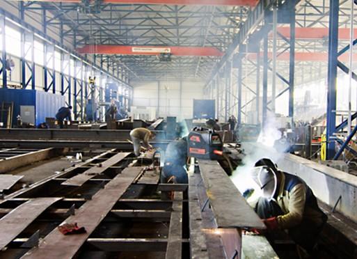 Завод по производству металлоконструкций